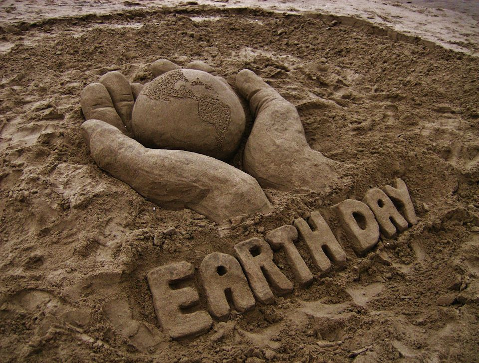 Earth Day 2016 Santa Cruz Sand Save Our Shores