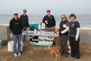 Save Our Shores Monterey Cleanup