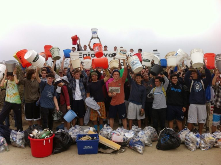 Save Our Shores Group Beach Cleanup