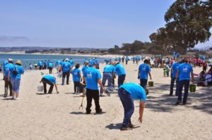 PG&E Beach Cleanup Save Our Shores