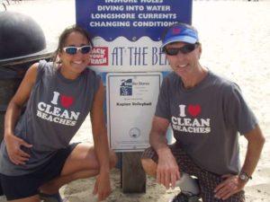 Kaplan Adopt a Beach Save Our Shores