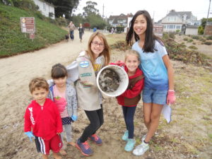 Girl Scouts San Jose Save Our Shores