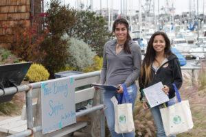 Save Our Shores Dock Walker Volunteers