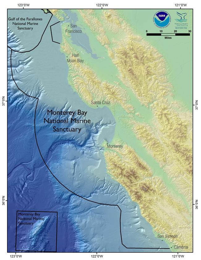 Marine Sanctuary Map