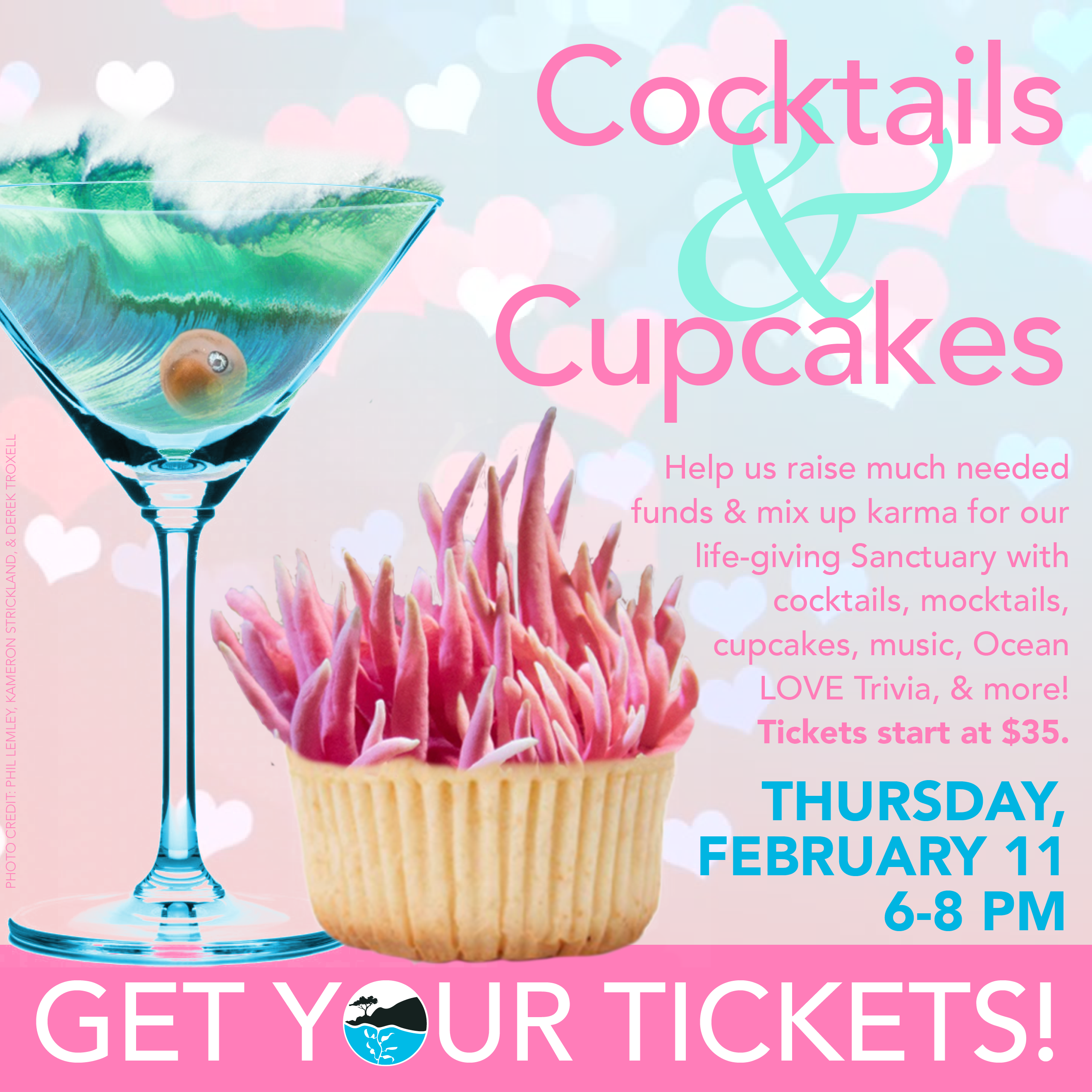 Get your Cocktails & Cupcakes fundraiser tickets!